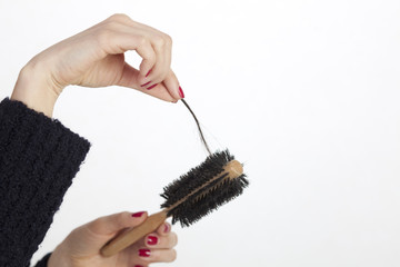 Haarverlust  bemerken