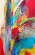 Olieverfschilderij - achtergrond