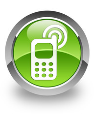 Cell phone ringing icon