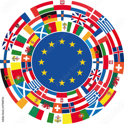 United Europe. Vector illustration