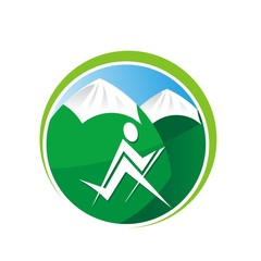 rordic walking logo