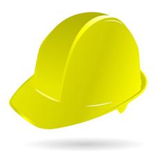 Capacete Construção Amarelo