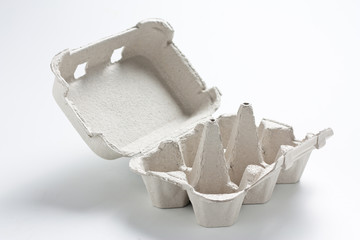 Empty egg box