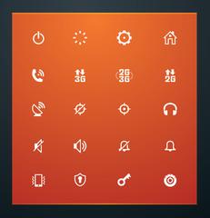 Universal glyphs 13. Phone symbols 2