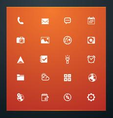 Universal glyphs 16. Phone symbols 5