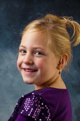 Portrait eines kleinen Mädchens