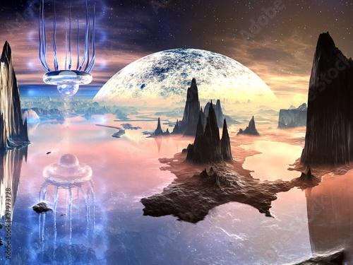 alien-creature-w-distant-world