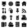 vector web icon set