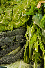 Green leafy vegetables, mixed