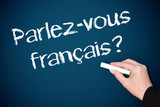 Fototapety Parlez-vous français ?