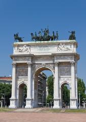 Milan triumphal arch