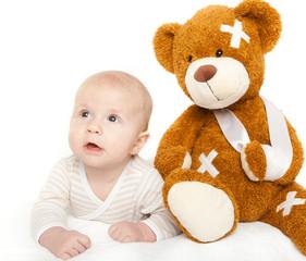 der erste arztbesuch baby