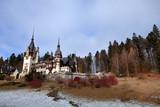 castello di Peles, Transilvania poster