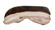 smoked pork-kaiser fleisch on a white background