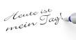 Stift Konzept - Heute ist mein Tag