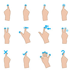 Touch Pad Gestures