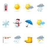 Web Icons - Weather