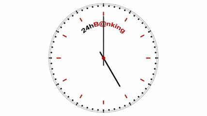 Clock: 24hB@nking