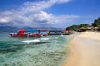 Beautiful beach on Gili Air island. Indonesia
