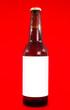 labeled beer bottle