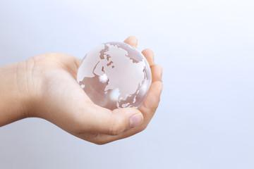 手の中の地球