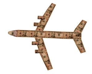 денежный самолёт