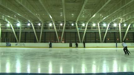 Indoor skating rink