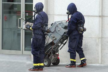 Bomb detection unit