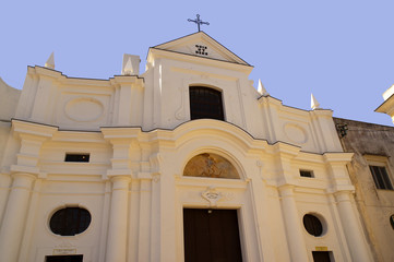 Church of San Michele Anacapri Isle of Capri Italy