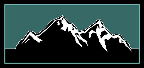 Mountain Logo Illustration