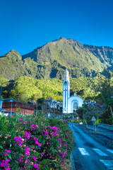 Eglise du cirque de Cilaos - Ile de La Réunion