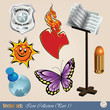 Vector set: Diverse clipart for your work and design