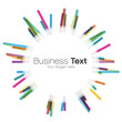 fond abstrait couleur,business text