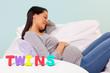 Pregnant woman Twins