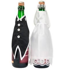 Wedding champagne bottle
