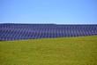 Parco fotovoltaico su collina