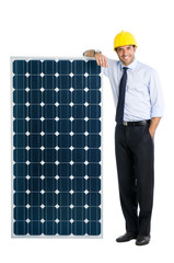 Business with solar energy