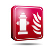 Icono 3D hidrante