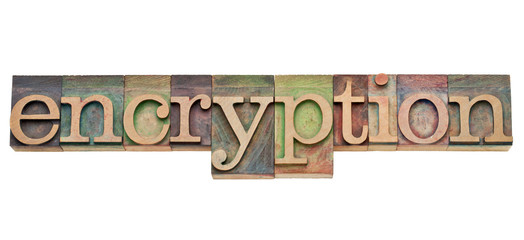 encryption - security concept