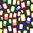 Viele bunte Smartphones