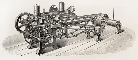 Vintage wood sander machine