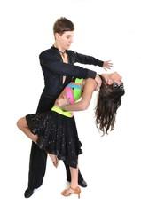 danseuses de salon isolé