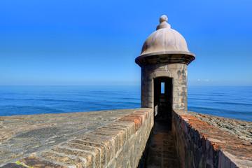 Castillo de San Cristóbal in San Juan, Puerto Rico