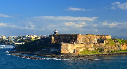 Fort San Felipe del Morro in San Juan, Puerto Rico
