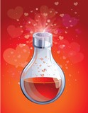 love elixir in small bottle