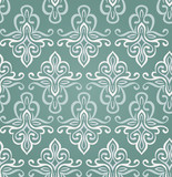 seamless vintage pattern in blue colors