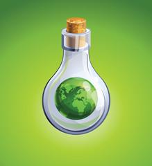 ecology concept - saving planet