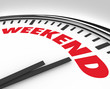Weekend Word on Clock Time for Fun and Relaxation