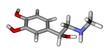 Adrenaline sticks molecular model