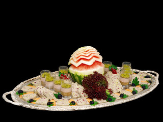mousse and terrine